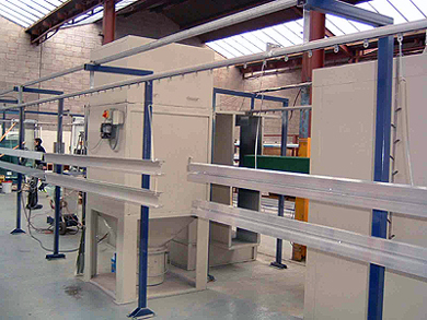 In-House Powder Coating Plant